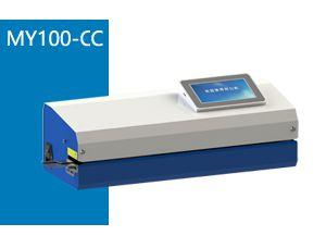 MY100-CC型触摸屏双行打印封口机